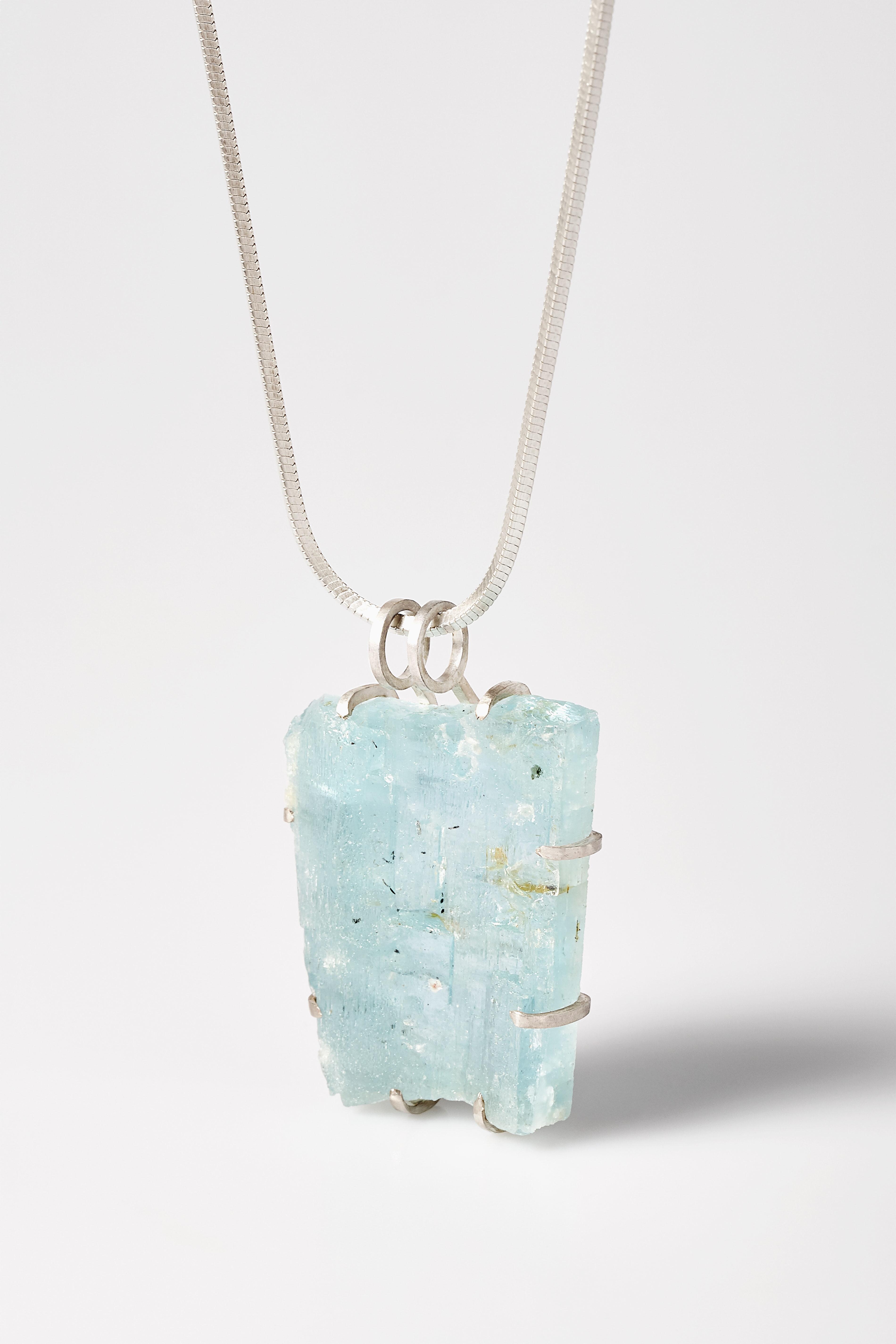 Aquamarin pendant.1