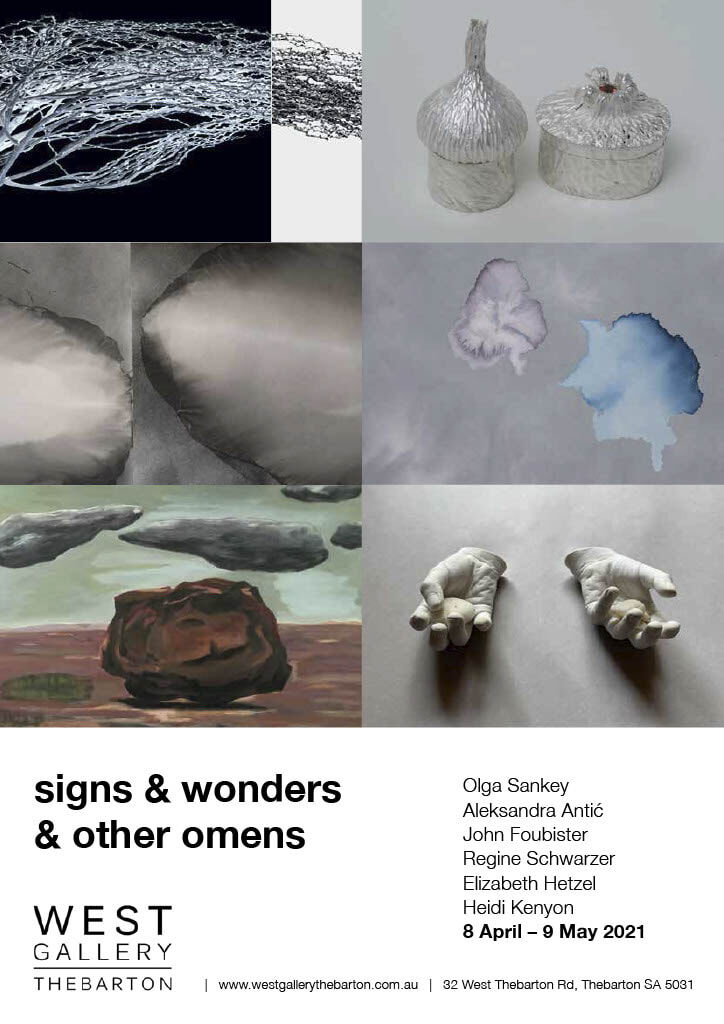 signs & wonders A4 poster
