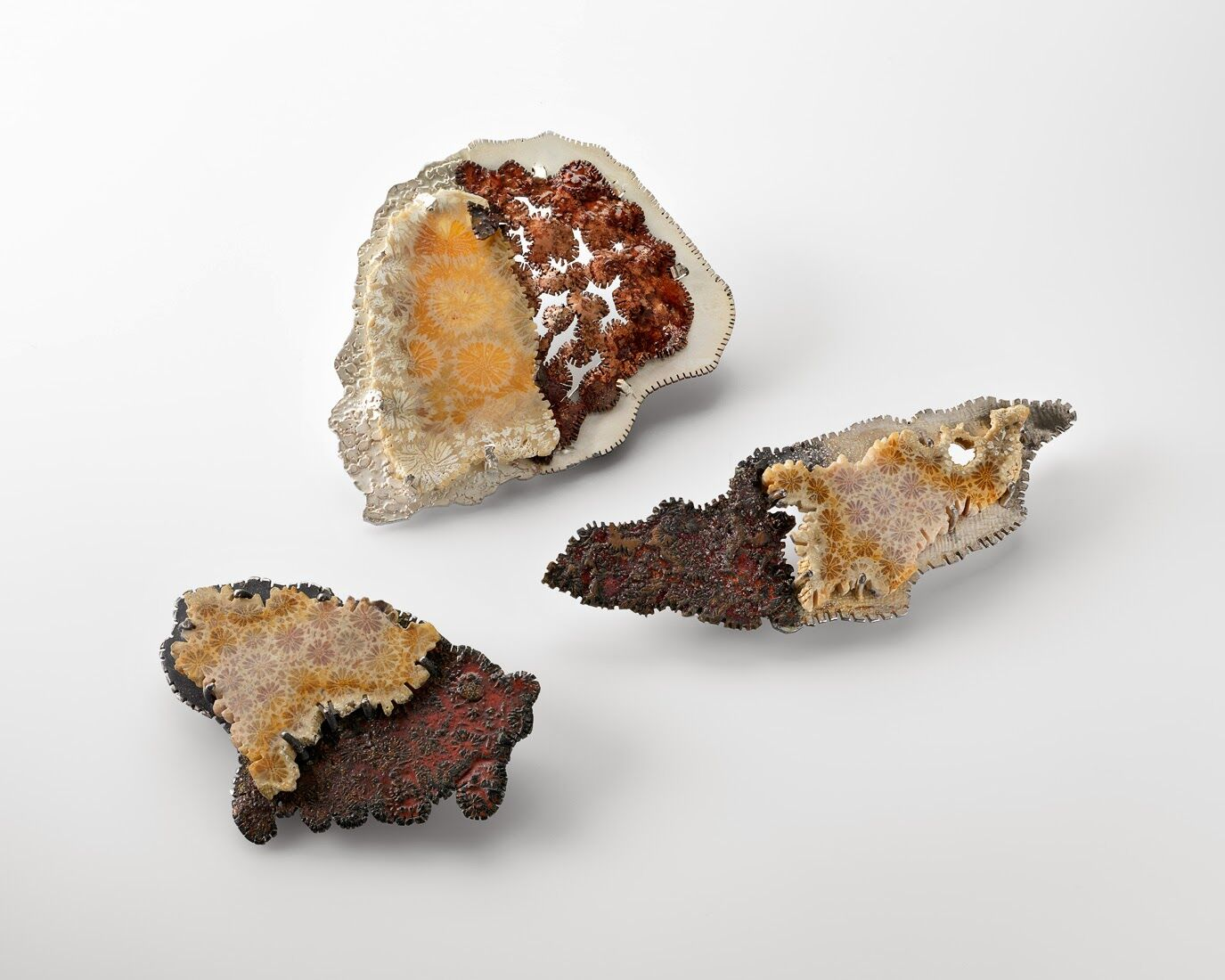 Mineral Manifestation Brooches