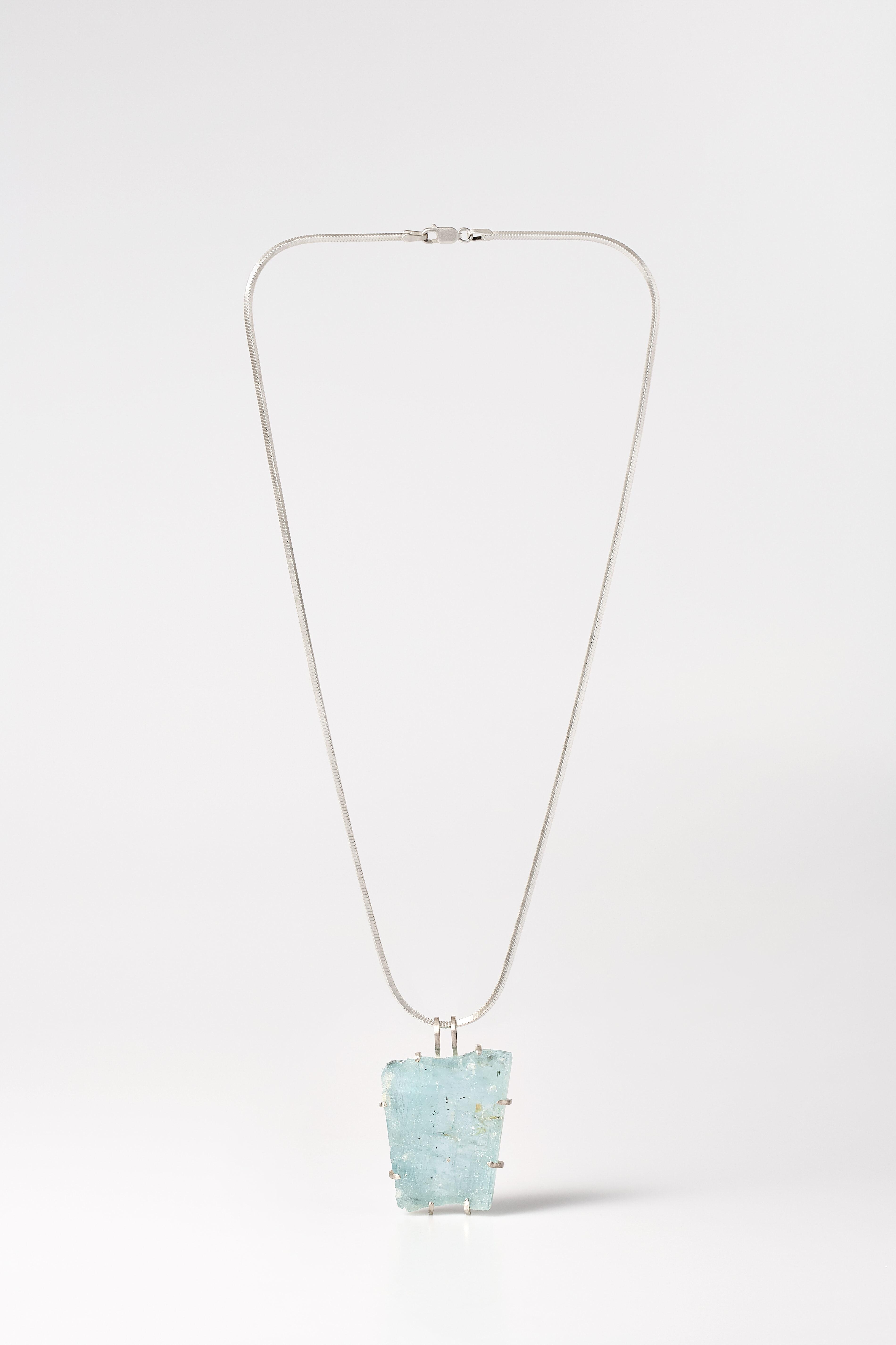 Aquamarin pendant.3