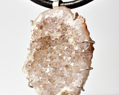 Agate Creek Quartz Pendant