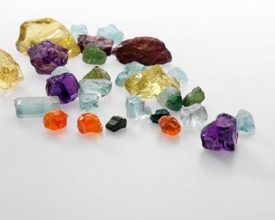 uncut stones